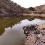 Cattle tank, Sierra Azul, Rancho El Aribabi - J. Rorabaugh