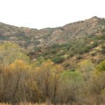 Rio Cocospera and N end of Sierra de la Madera, Son - J. Rorabaugh