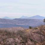 Santa Rita Mtns from Sierra Azul, Rancho El Aribabi - J. Rorabaugh