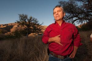 Mexican conservation rancher Carlos Robles Elías.